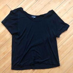 Wilfred Free Aritzia Black Tee Shirt